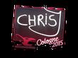 Sticker chrisJ | Cologne 2015