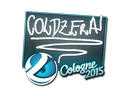 Sticker | coldzera | Cologne 2015