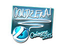 Sticker | coldzera (Foil) | Cologne 2015