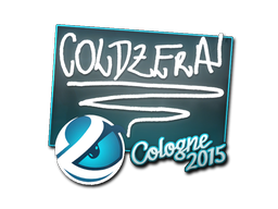 Наклейка | coldzera | Кёльн 2015