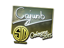 Sticker | cajunb (Foil) | Cologne 2015