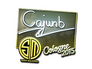 Skin Sticker | cajunb (Foil) | Cologne 2015
