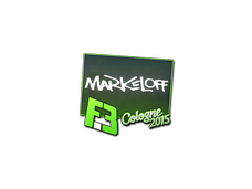 Skin Sticker | markeloff | Cologne 2015
