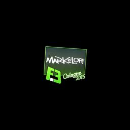 Sticker | markeloff | Cologne 2015