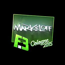 markeloff (Foil) | Cologne 2015