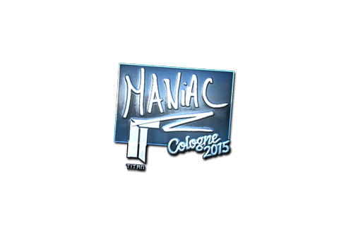 Sticker | Maniac (Foil) | Cologne 2015 Prices