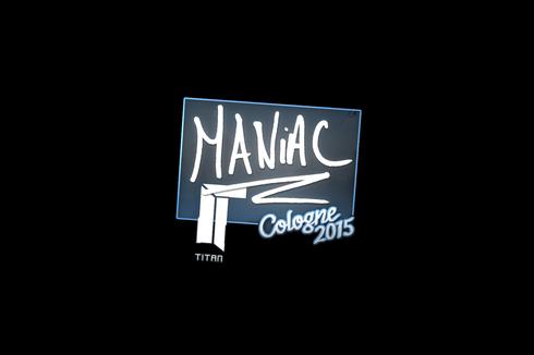 Sticker | Maniac | Cologne 2015 Prices