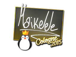 Sticker | Maikelele | Cologne 2015