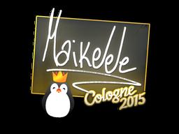 Наклейка | Maikelele | Кёльн 2015