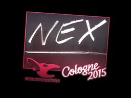 nex | Cologne 2015