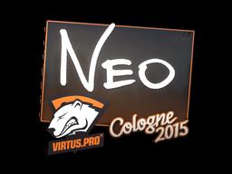 Наклейка | NEO | Кёльн 2015