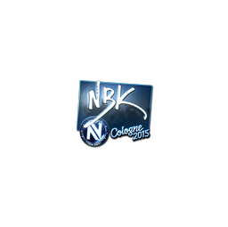 Sticker | NBK- (Foil) | Cologne 2015