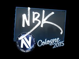 Наклейка | NBK- | Кёльн 2015