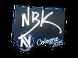 Sticker NBK- | Cologne 2015
