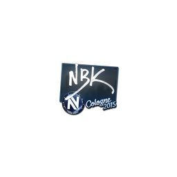 Sticker   NBK-   Cologne 2015