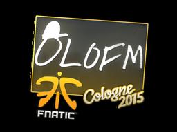 Наклейка | olofmeister | Кёльн 2015