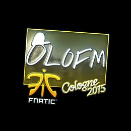 olofmeister (Foil) | Cologne 2015