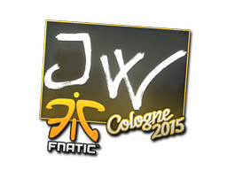 Sticker | JW | Cologne 2015