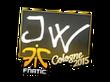 Sticker JW | Cologne 2015