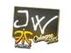 Sticker   JW   Cologne 2015