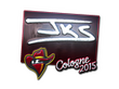 Sticker jks (Foil) | Cologne 2015