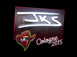 Наклейка | jks (металлическая) | Cologne 2015
