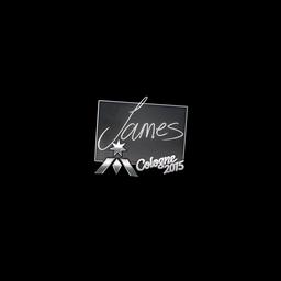 Sticker   James   Cologne 2015