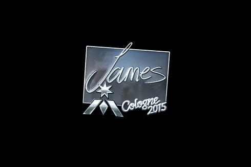 Sticker   James (Foil)   Cologne 2015 Prices