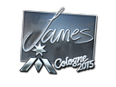 Sticker | James (Foil) | Cologne 2015