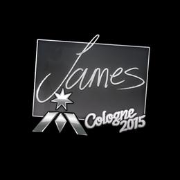 James | Cologne 2015