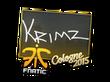 Sticker KRIMZ | Cologne 2015