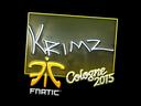 Sticker | KRIMZ (Foil)