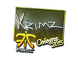 Sticker KRIMZ (Foil) | Cologne 2015