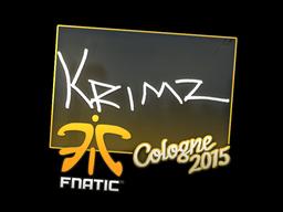 Sticker   KRIMZ   Cologne 2015