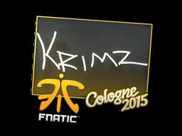 Наклейка | KRIMZ | Кёльн 2015