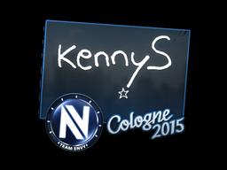 Наклейка | kennyS | Кёльн 2015