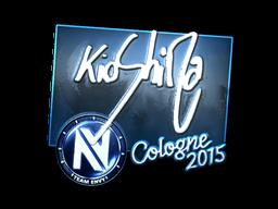 Наклейка | kioShiMa (металлическая) | Кёльн 2015