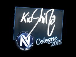 Наклейка | kioShiMa | Кёльн 2015