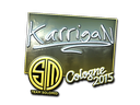 Sticker | karrigan (Foil) | Cologne 2015