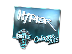 Наклейка | Hyper (металлическая) | Кёльн 2015