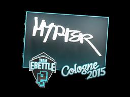 Наклейка | Hyper | Кёльн 2015