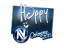 Sticker | Happy (Foil) | Cologne 2015