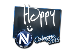 Sticker | Happy | Cologne 2015
