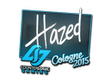 Sticker hazed | Cologne 2015