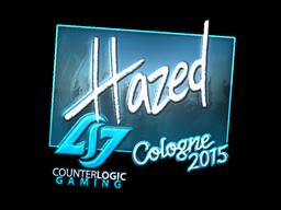 Sticker | hazed (Foil) | Cologne 2015