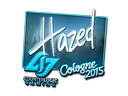 Sticker | hazed (Foil) | Cologne 2015
