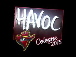 Наклейка | Havoc (металлическая) | Кёльн 2015