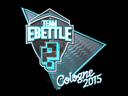Sticker | Team eBettle (Foil)