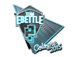 Sticker Team eBettle (Foil) | Cologne 2015