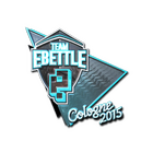 Sticker | Team eBettle (Foil) | Cologne 2015
